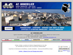 AC Immobilier | Agence immobiliere Bastia