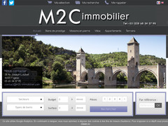 agence immobiliere M2C à figeac