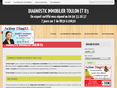 Détails : Diagnostic immobilier Toulon 83