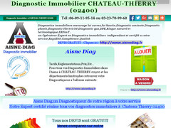 Détails : DIAGNOSTIC IMMOBILIER CHATEAU-THIERRY 02400