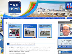 Mandataire immobilier Maxihome Orleans : achat / vente immobilier appartement maison terrain Orleans